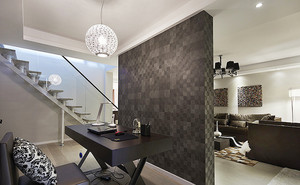 164平米现代简约风格复式楼室内装修效果图