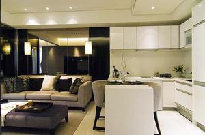 现代简约风格时尚小户型室内装修效果图