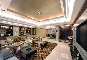 新古典风格精致时尚大户型室内装修效果图案例