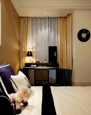 新中式风格精致三室两厅室内装修效果图案例