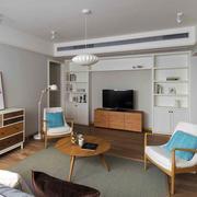 宜家风格清新小户型客厅装修效果图赏析