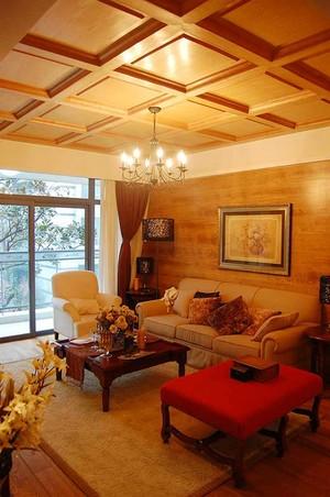 244平米中式混搭风格别墅室内装修效果图