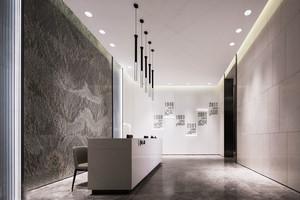 简约风格办公室前台设计装修效果图赏析