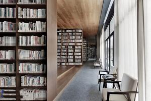 300平米现代风格图书馆装修效果图赏析