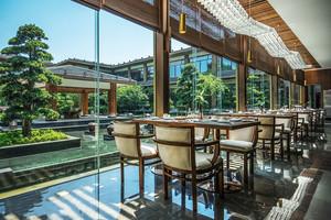 简欧风格五星级西餐厅设计装修效果图
