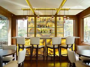 新古典主义风格别墅室内吧台设计装修效果图
