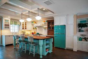 地中海风格别墅清新厨房装修效果图赏析