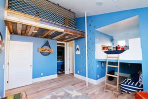地中海风格清新创意活力儿童房装修效果图