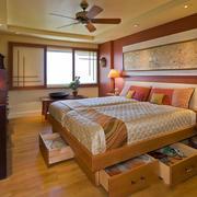 东南亚风格大户型精致卧室装修效果图赏析