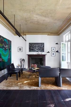 270平米后现代风格时尚别墅装修效果图案例