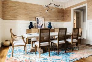 后现代风格大户型文艺清新餐厅设计装修效果图赏析