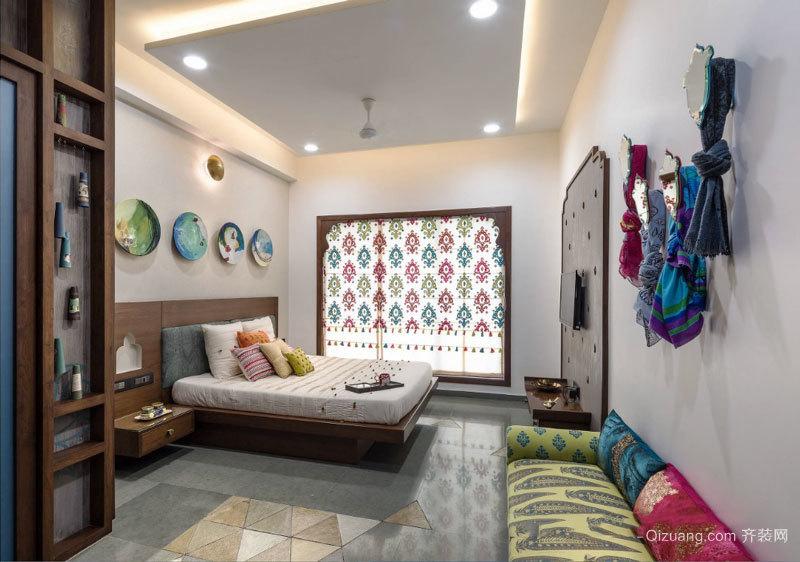 混搭风格时尚创意卧室装修效果图赏析