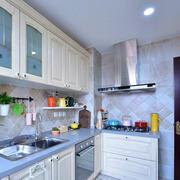 8平米简欧风格精致厨房设计装修效果图赏析