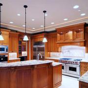 美式风格经典精致整体厨房装修效果图赏析