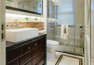 美式风格精致卫生间淋浴房装修效果图赏析