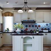欧式风格精致整体厨房装修实景图赏析