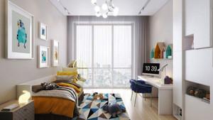 清新风格简约女儿童房设计装修效果图大全