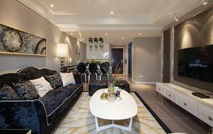 174平米新古典主义风格复式楼室内装修效果图案例