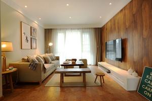 69平米宜家风格简约一居室室内装修效果图
