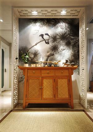 90平米中式风格素雅室内设计装修效果图