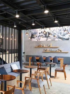 后现代风格创意餐厅设计装修效果图