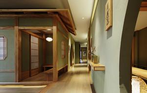 日式风格简约餐厅设计装修效果图赏析