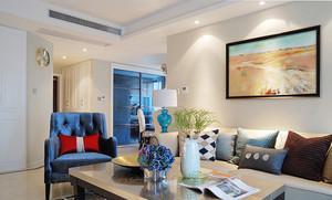 124平米简欧风格精美三室两厅室内设计效果图