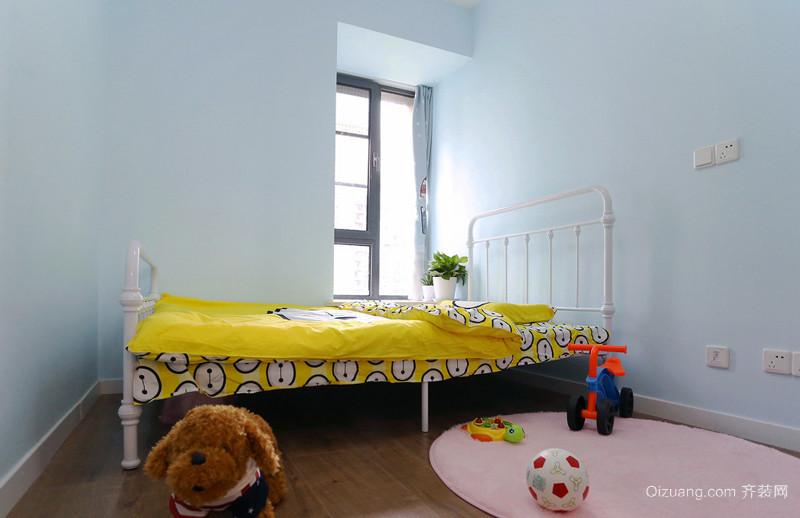 简欧风格清新可爱儿童房设计装修效果图