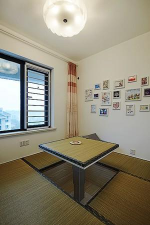 简欧风格清新三室两厅室内设计装修效果图