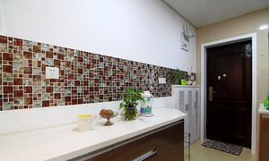 65平米现代简约风格两室两厅装修效果图案例