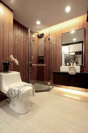 简约中式风格大户型室内设计装修效果图