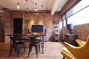 68平米后现代风格创意loft装修效果图赏析