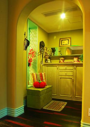 160平米欧式风格温馨复式楼室内装修效果图案例