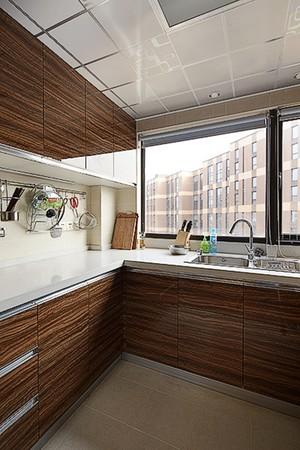182平米现代风格复式楼室内装修效果图
