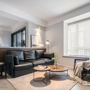 现代风格时尚小户型客厅设计装修效果图赏析