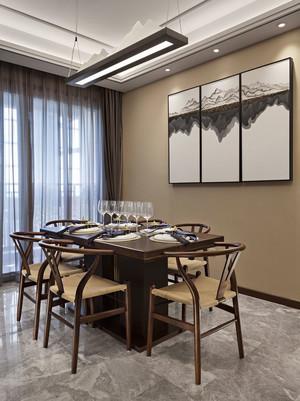 中式风格典雅精致餐厅设计装修效果图