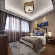 中式风格素雅精致卧室装修效果图赏析