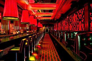 复古创意酒吧设计装修实景图