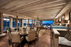简欧风格精美西餐厅设计装修效果图