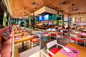 简约风格清新餐厅设计装修效果图