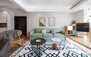 北欧风格淡雅清新客厅装修效果图赏析