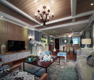 240平米混搭风格精装别墅室内装修效果图