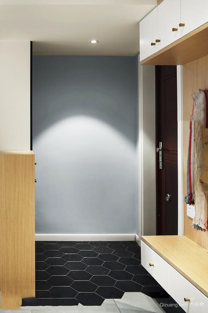 现代简约风格小户型玄关装修效果图