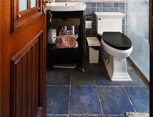美式风格复古创意三室两厅室内设计装修效果图