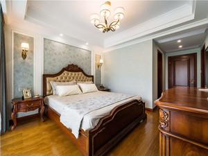 美式风格复古精致卧室装修实景图赏析