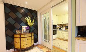 欧式风格精美大气三室两厅室内设计装修效果图