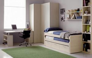 现代简约风格实用整洁儿童房设计装修效果图