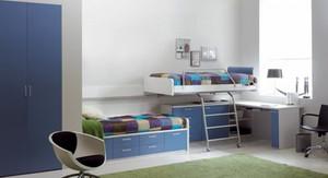现代简约风格整洁儿童房设计装修效果图
