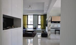 现代简约风格简装两室两厅室内设计装修效果图