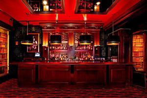 美式风格时尚创意酒吧装修效果图